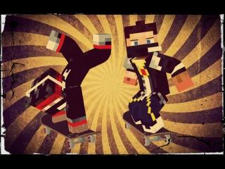 Учимся Ездить На Скейте :D #1 [Прохождение Карты] - Minecraft