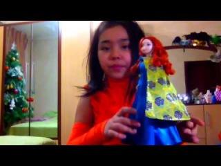 Распаковка и обзор куклы Мерида Храбрая Сердцем!!!!