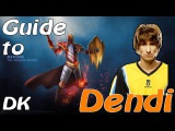 Dendi Dragon Knight Playing RMM Dota 2 No Comments (NaVi)
