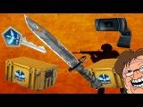 КАК ВЫБИТЬ НОЖ В КС:ГО?!?! CS:GO - case opening [Открываем кейсы] Vanguard Knife!