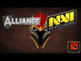 ФИНАЛ Лузеров Alliance vs NaVi #2(30.11.2013) ASUS ROG DreamLeague Dota 2 Consolidation Final