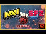 NaVi vs SFZ #1  WePlay.tv Dota 2 (RUS)