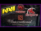 БОМБА! NaVi vs Empire bo1 International 2014 Dota 2 #ti4 RUS