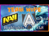 TeamWipe Highlights NaVi vs Alliance Starladder 8 Grand Final (1st and 3d games) Dota 2