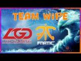 TeamWipe LGD vs Fnatic HyperX D2L Dota 2
