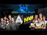 NaVi vs Alliance #2 (09.03.14) XMG Captains Draft Invitational Dota 2 RUS