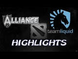 Alliance vs Team Liquide Game #2 HighLights (23.02.2014) XMG Dota 2 ENG