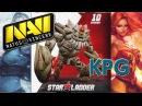 NaVi vs KPG Star Ladder Star Series Season 10 Dota 2 RUS