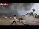 Фото извержения вулкана Синабунг на острове Суматра. Смотрите наш видеорепортаж онлайн