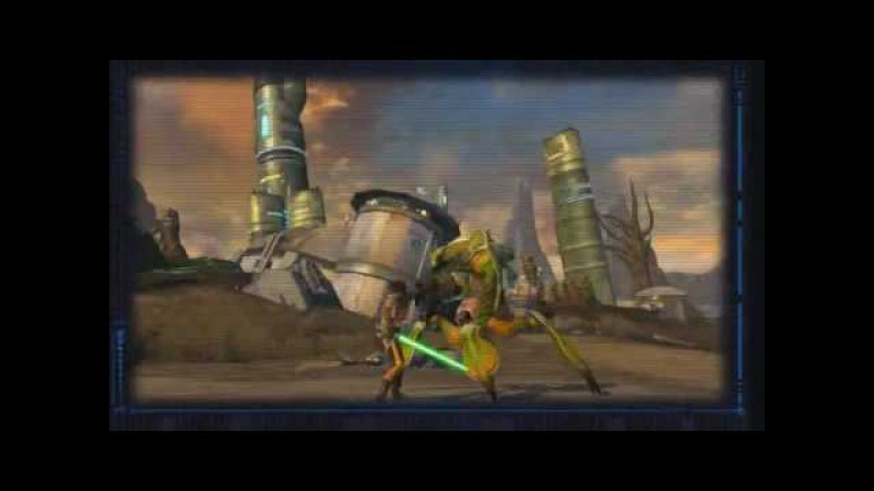YouTube Star Wars the Old Republic Jedi Consular Combat