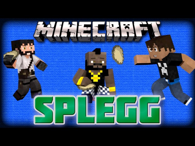 Minecraft SPLEGG - Лопата с Яйцами