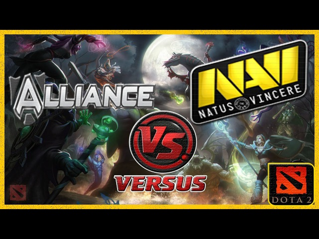 ГРАНД - ФИНАЛ 2 Navi vs Alliance (Alliance vs NaVi) Starladder 7 Dota 2 (RUS) (grand finale)