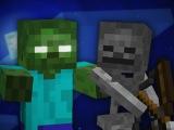 Zombie vs Skeleton - Minecraft Rap Battle