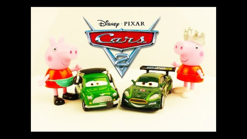 Cars WGP Disney Pixar Cars Peppa Pig meet new friends peppa pig Masha i Medved Paw Patrol Toys Usa