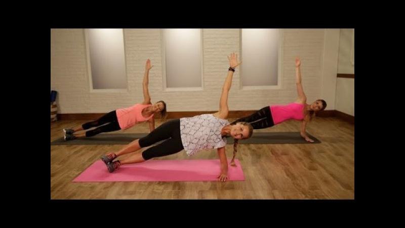 20-минутная шлифующая тренировка всего тела Алессандры Амбросио. Work Out Like an Angel With This No-Equipment Workout
