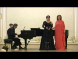 Jacques Offenbach. Barcarolle. Vera Chekanova, Nadezhda Khadzheva, Michail Blecher