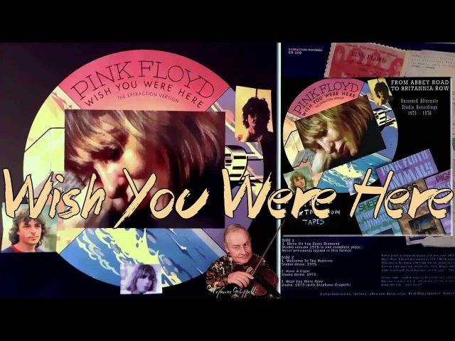 Pink Floyd - Wish You Were Here - Studio 1975, with Stéphane Grapelli