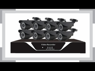 Комплект видеонаблюдения на 8 камер Айсон Про