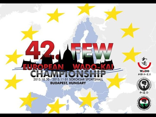 42nd FEW European Wadokai Karate Championship - 2015