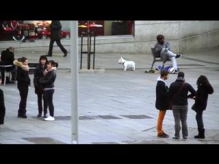 Криштиану Роналду переоделся в бомжа в Мадриде