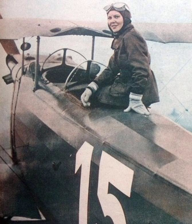 Армянская дочь Ататюрка и первая женщина военный пилот-истребитель