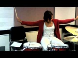California Gurls- Katy Perry feat. Snoop Dogg (drum cover by Taylor