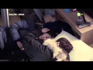 [BTS] 150102 QTV Pinocchio Making Film (Skinship ver.) - Lee Jong Suk & Park Shin Hye