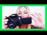 Canon T6i Video Creator Kit Unboxing | How To Start Filming for YouTube!