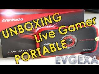 Обзор карты видео захвата AVerМedia Live Gamer Portable Unboxing от Евгехи
