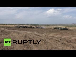 В ДНР и ЛНР завершается подготовка к проведению танкового биатлона