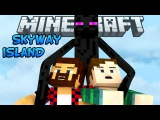 ЗАХВАЧЕНЫ МОБАМИ - Minecraft Skyway Island Survival 02