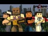 Майнкрафт Путишествие с Друзьями 1 день Выживание в Minecraft