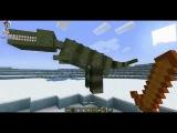 Майнкрафт Обзор Мода LotsOMobs (Minecraft с Модами) - ПАРК ЮРСКОГО ПЕРИОДА