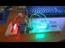 Бинарные часы на Arduino, и выходных сдвиговых регистрах 74HC595 LED