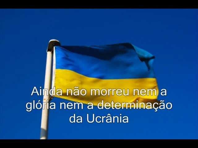 Hino Nacional da Ucrânia livre desde 2003 (com legendas)