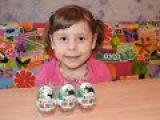 Кунфу Панда 3 Киндер Сюрприз распаковка игрушек Kinder Surprise unpacking toys