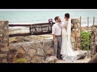 Beach Wedding Ceremony in Mexico | Свадебная церемония в Мексике | Свадьба в Мексике