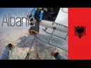 Albania Acro Show - Helicopter paraglide dbag drop above capital Tirana