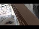 процесс изготовления перилы на винтовую лестницу