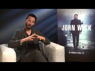 Keanu Reeves Talks About 'John Wick' With Kevin Hughes