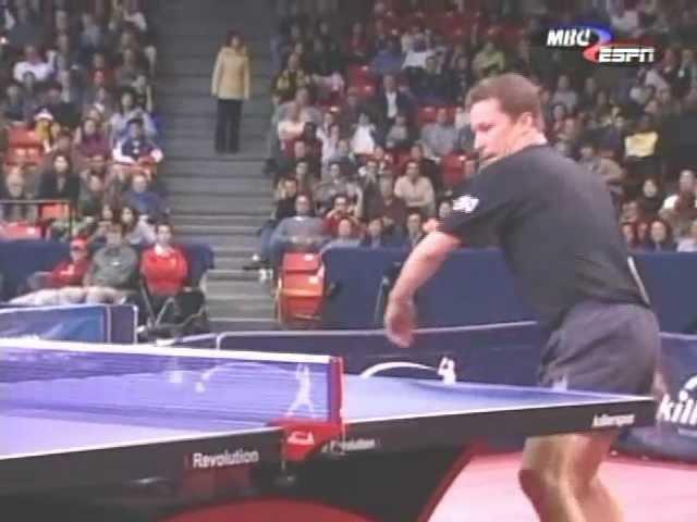 Jan Ove Waldner vs Matsushita