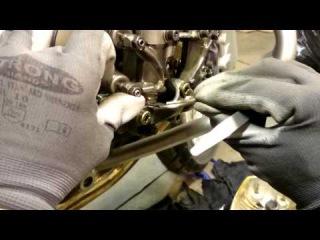 Регулировка клапанов на BMW R1200GS (МотоМастерская)