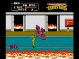 NES Longplay 369 Teenage Mutant Ninja Turtles II The Arcade Game (a)