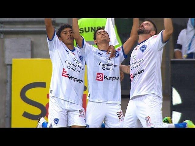 Gol de Yago Pikachu, Fluminense 2 x 1 Paysandu 20/08/2015, Copa do Brasil 2015