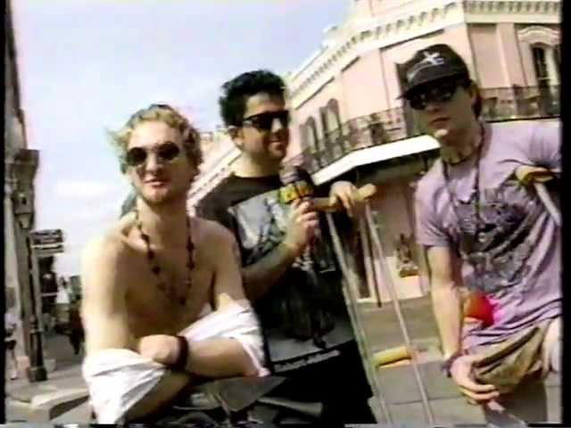 Alice In Chains On Headbangers Ball In New Orleans Late 1992