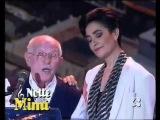 ♫ Mia Martini e Roberto Murolo ♪ 'Cu'mmè', duetto ♫ 'Azzurro 1992' ♫