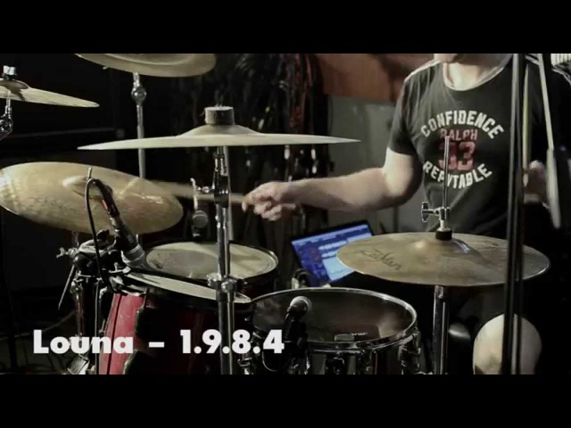 Louna - 1.9.8.4 (drum cover) / Луна - 1984 (барабанный кавер)