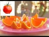 Как сделать алкогольное желе в форме апельсинок Пальчики оближешь. Рецепт ТВ