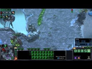Игра чемпиона мира по StarCraft 2 от первого лица: Life vs TaeJa