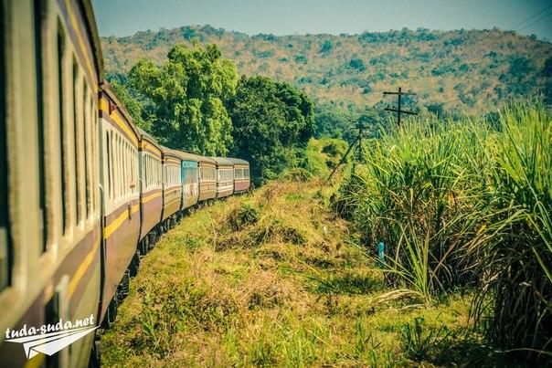 железная дорога смерти таиланд